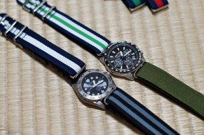 A Pair of Quartz Seikos