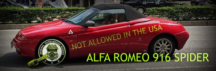 Alfa Romeo 916 Spider and the Alfa Antiheroes