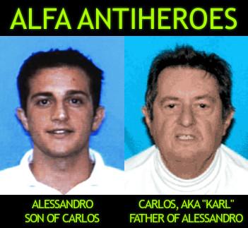 Giordano Alfa Antiheroes