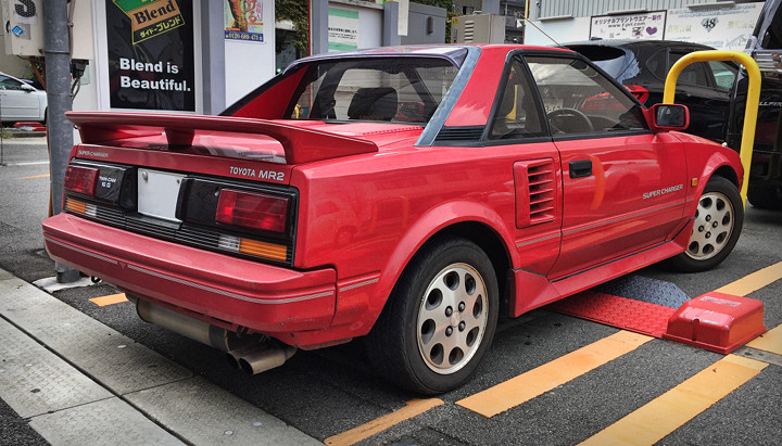 Supercharged 1988 Toyota MR2 Mk1b Rear Tail