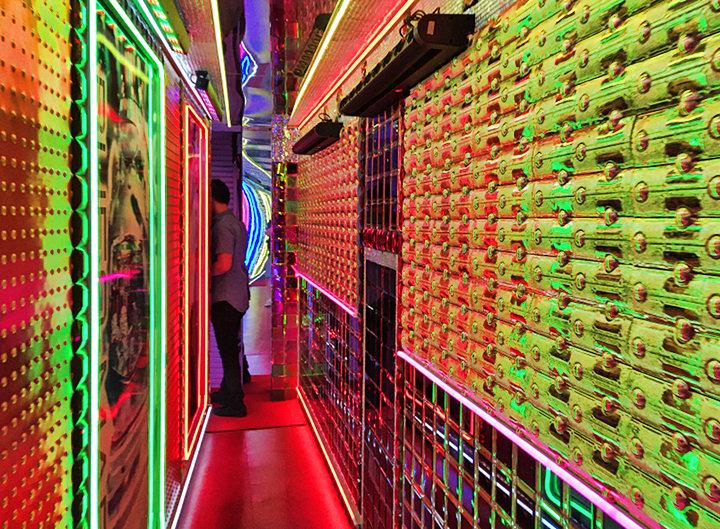 Robot Restaurant Hallway