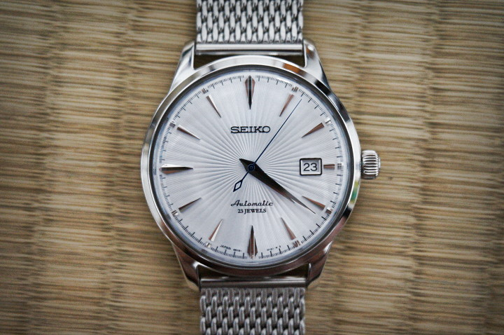 Seiko Cocktail Time SARB065 on Mesh