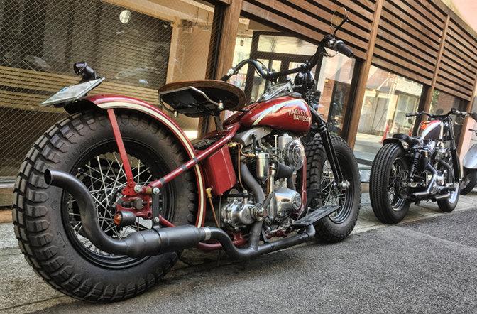 Vintage Harleys